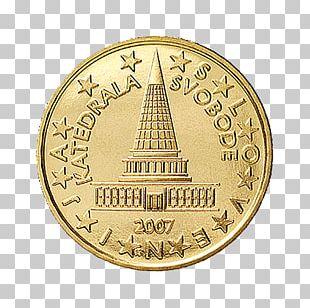 Plečnik Parliament 10 Euro Cent Coin 1 Cent Euro Coin Penny PNG