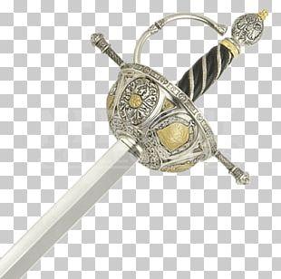 Types Of Swords Rapier Excalibur Conquistador PNG