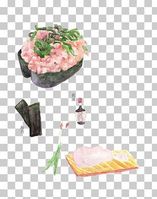 Sushi Asian Cuisine Allium Fistulosum PNG