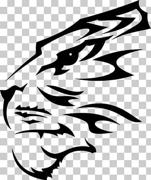 Tiger Wall Decal Sticker Paper PNG