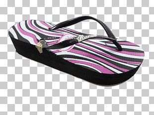 Flip-flops Slipper Shoe Walking Pink M PNG