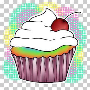 Cupcake Drawing Digital Art PNG