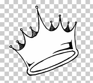 Drawing Crown King PNG