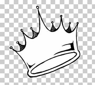 Drawing Crown King PNG