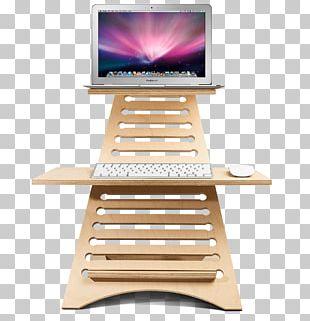 Laptop Standing Desk Lap Desk PNG