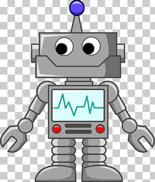 Robot Cartoon PNG