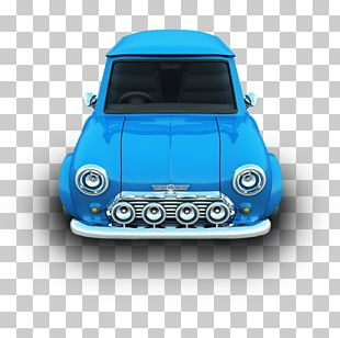 Blue Mini Vehicle Door Automotive Exterior PNG
