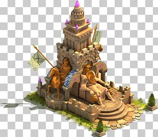 Monument Stone Carving Statue Temple Building PNG