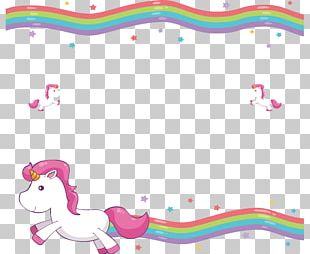 Unicorn Blanket Wedding Invitation Cuteness PNG