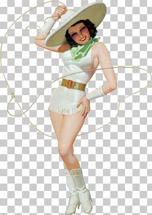 Pin-up Girl Poster Vintage Clothing Retro Style PNG