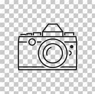 Digital SLR Single-lens Reflex Camera PNG