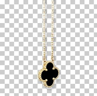 Locket Van Cleef & Arpels Necklace Gold Charms & Pendants PNG