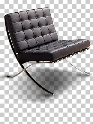 Barcelona Chair Fauteuil Furniture Club Chair PNG
