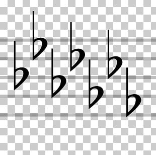 Key Signature Musical Notation Staff Musical Note PNG