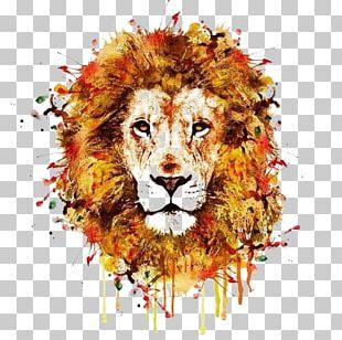 Lion Leopard Tiger T-shirt Wildlife PNG