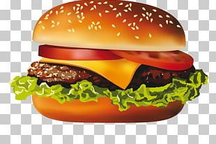 McDonalds Hamburger Hot Dog Cheeseburger Veggie Burger PNG