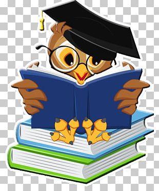 Paper Graduation Ceremony Book PNG