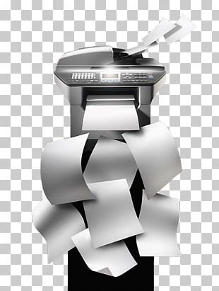 Paper Photocopier Printer PNG