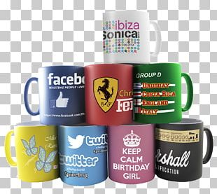 Mug Printing Business Paper Promotional Merchandise PNG