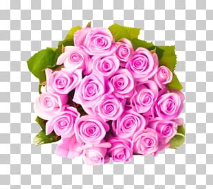Flower Bouquet Pink Flowers Rose PNG
