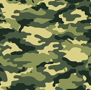 Military Camouflage U.S. Woodland PNG