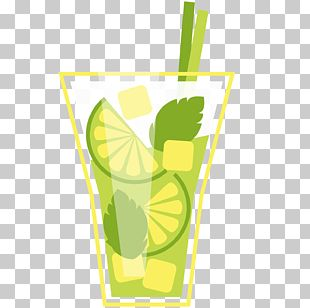 Mojito Juice Lemonade Cocktail Garnish Aguas Frescas PNG