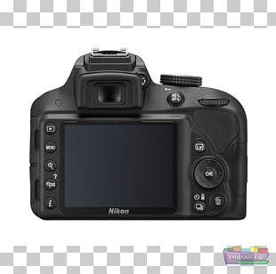 Nikon D3300 Canon EF-S 18–55mm Lens Digital SLR Camera Nikon AF-S DX Nikkor 35mm F/1.8G PNG
