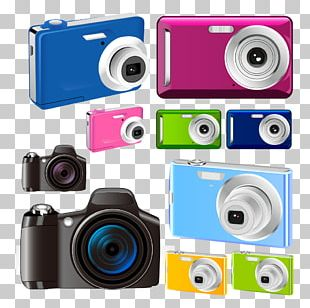 Camera Color Photography Icon PNG
