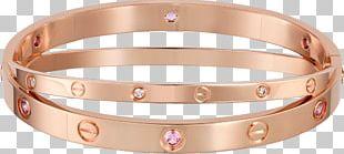 Love Bracelet Cartier Diamond Jewellery PNG