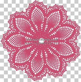 Doily Place Mats Paper Crochet PNG