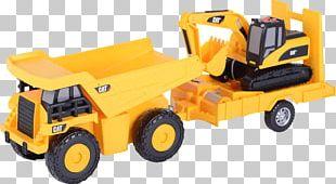 Caterpillar Inc. Car Dump Truck Semi-trailer Truck PNG
