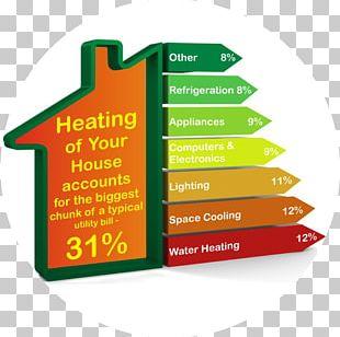 Domestic Energy Consumption House Font PNG