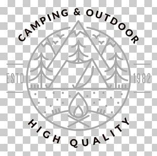 Camping Logo Campsite Graphic Design PNG