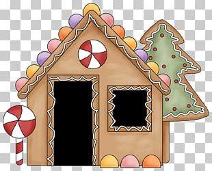 Gingerbread House Christmas Ornament Christmas Cake PNG