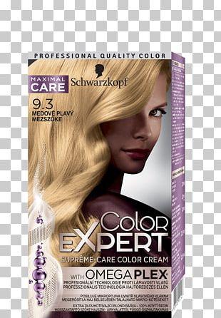 Hair Coloring Schwarzkopf Human Hair Color Blond PNG