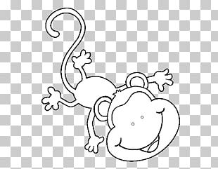 Monkey Drawing Coloring Book Dessin Animé PNG