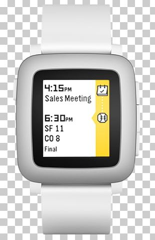 Pebble Time Watch Strap Smartwatch PNG