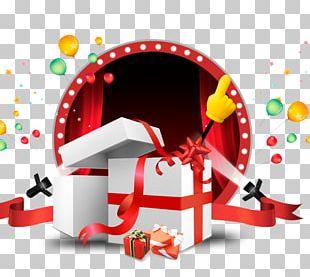 Gift Ribbon Balloon PNG