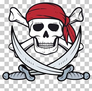 Skull And Crossbones T-shirt Piracy Human Skull Symbolism PNG