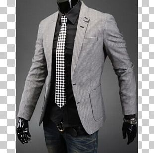 Blazer Suit Jacket Houndstooth Clothing PNG