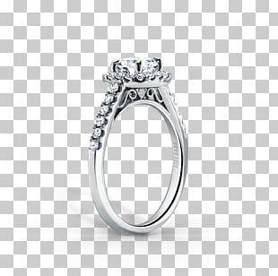 Engagement Ring Diamond Brilliant Wedding Ring PNG