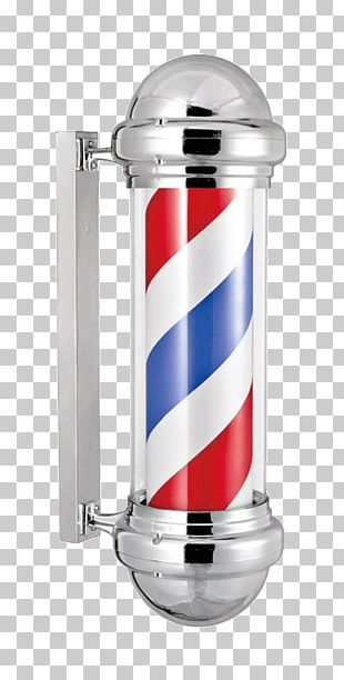 Barber's Pole Barber Chair Beauty Parlour Cosmetologist PNG