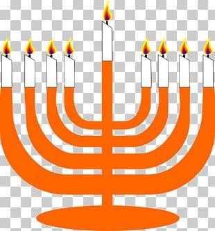Menorah Judaism Hanukkah PNG