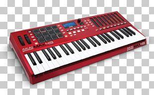 Computer Keyboard Akai Music Production Controller MIDI Controllers CV/gate PNG