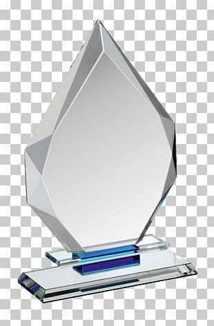 Glass Award Trophy Crystal PNG