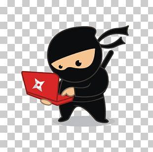Ninja Computer Programming Learning Study Skills PNG