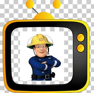Fireman Sam Firefighter Toy Fire Engine Animated Cartoon PNG