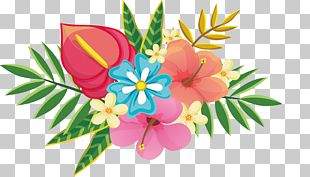 Exquisite Flower Design PNG