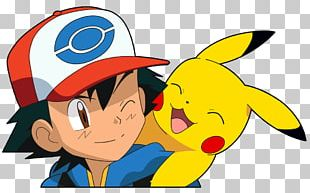 Pikachu Smiling Pokemon PNG