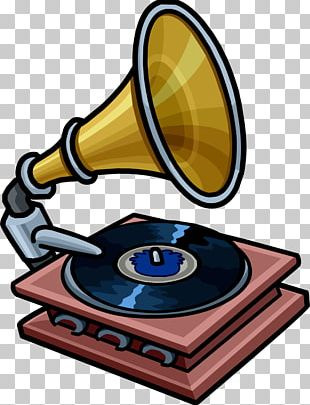 Phonograph Record Sound Recording And Reproduction Gramophone Club Penguin PNG